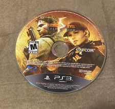 Resident Evil 5 Gold Edition Sony Playstation 3 PS3 Works Great! Fast Shipping!