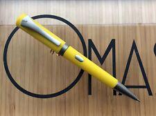 New ListingOmas Emotica Yellow Mechanical Pencil Rhodium Trim * New Factory Condition *