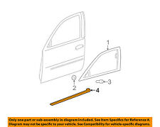 Cadillac GM OEM 06-11 DTS FRONT DOOR-Body Side Molding Left 22760267