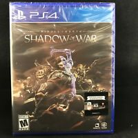 Middle Earth : Shadow of War (PS4) BRAND NEW / Region Free