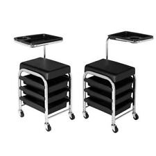 Manicure Pedicure Stool Nails Cart Chair Storage Trolley Salon Spa Equipment