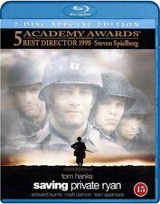 Saving Private Ryan (1998) Tom Hanks Blu-Ray Import Brand New Free Shipping