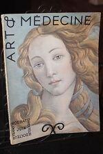 ART ET MEDECINE - Juin 1935 - Vénus - Cinéma - Aube de Saint Paul - théâtre