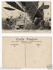 ballon dirigeable.airship.REPUBLIQUE.Nacelle .entrepot.warehouse