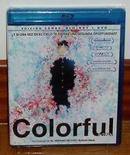 COLORFUL-KARAFURU-COMBO BLU-RAY+DVD-NUEVO-PRECINTADO-COMIC-MANGA-FANTASIA-DRAMA