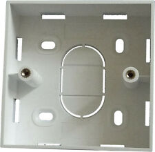 RJ45 Cat5e Cat6 Backbox Back Box Wall Mount Network
