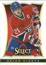 BRIAN GIONTA 2013-14 Panini Select Hockey Prizm Card #19 Canadiens