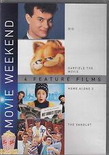 BIG / GARFIELD THE MOVIE / HOME ALONE 2 / THE SANDLOT (DVD)