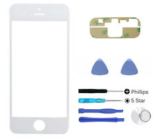 White front glass lens screen replacement For iphone 5 5S 5C SE Adhesive Tool