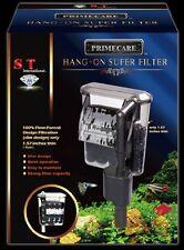 ST International FISH AQUARIUM HANG-ON SUPER FILTER Slim Design Quiet Strong