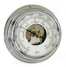 BARIGO 1710cr rythme S baromètre avec ouvert échelle CHROME 88 mm