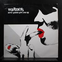 The Warmers - Never Gonna Give You Up LP VG+ WCR-1201 Chicago Jazz Vinyl Record