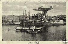 3505/ Foto AK, Kiel, Werft, 1919