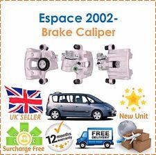 para Renault Espace 1.9 2.0 2.2 2002- trasero lado derecho pinza de freno NUEVO