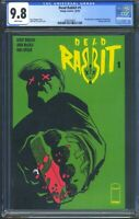 Dead Rabbit 1 (Image) CGC 9.8 Wht Pgs Premiere issue, Recalled due to copyright