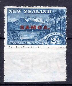 Samoa overprint NZ  Lake Lakatipu overprint MNH with margin   [S030821]
