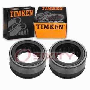 2 pc Timken Rear Wheel Bearing and Seal Kits for 1965-1985 Chevrolet Impala xq