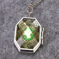 Voldemort's Horcrux Sirius Black's Brother RAB Locket Necklace Slytherin Locket