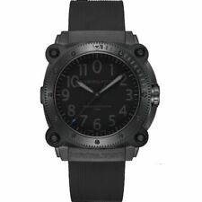 Hamilton Khaki Navy Men's Black Watch with Rubber Band - H78505331