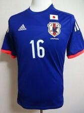 Japan #16 Yamaguchi 100% Original Soccer Football Jersey Shirt 2014-15 Home L