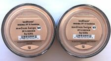 Bare Escentuals Bare Minerals Foundation Medium Beige N20 8g XL SPF15 <PACK OF 2