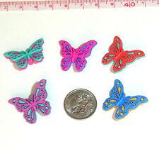 Novelty Buttons Embellishments Flights of Fancy Butterflies #32
