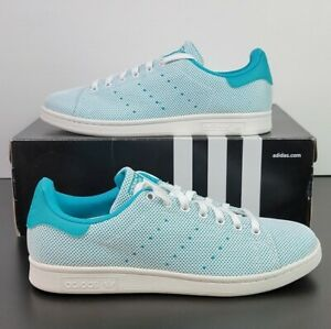 Adidas Stan Smith Adicolor So Breezy Teal White Shoes S81875 Men's US Size 12