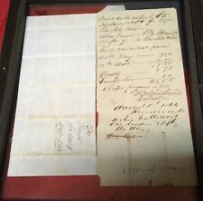 Confederate States Tax in Kind receipts 1864