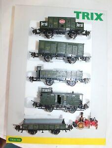 Trix Express 32375 K.Bay.Sts.B. Set mit 5 Güterwagen KKK - Neuzustand + OVP