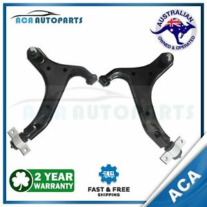 Fit Nissan Elgrand E51 LH + RH Front Lower Control Arm w/ Ball Joint Bush 02-10