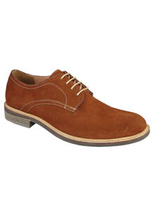 Mens Lightweight Suede Lace Up Shoe For Smart/ Casual wear.