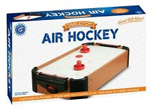Table Top Air Hockey Battery Operated Pushers Pucks Family Game Play Set 20 Inch