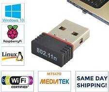 MediaTek Mini USB WiFi Wireless Network Adapter 802.11n/g/b for Desktops HP Dell