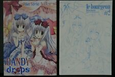 JAPAN Riko Korie Art Works: Candy Drops Limited Edition (W/Rough Art Book)