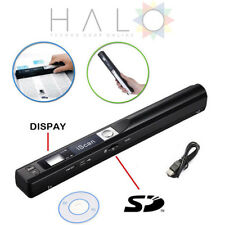 SCANNER PORTATILE ISCAN WIRELESS HD PORTATILE CMOS 900DPI MANUALE A COLORI