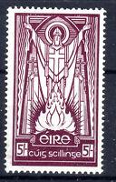 Ireland 5/- maroon SG124 Cat £40 MLH 1942 [I907-2]