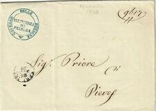 7616-GOVERNO DELLE ROMAGNE, INTENDENZA DI FERRARA PER PIEVE, TRASPORTI ECC.,1859