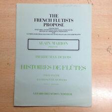 partition méthode The French Flutists Pierre Max Dubois histoires de Flûte