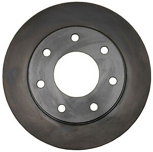Disc Brake Rotor-Non-Coated Front ACDelco Advantage 18A818A
