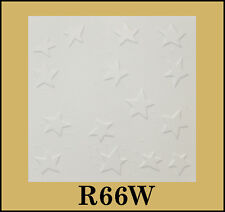 Tin-Look Styrofoam Ceiling Tiles Easy Installation - R66W