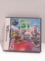 Planet 51: The Game (Nintendo DS, 2009) SEGA Rated E Complete Tested Fast Ship
