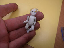 Antique Dolls Germany tiny doll baby  dollhouse  Katzhütte / Limbach 1900