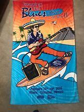 Joe Bonamassa Beach Towel Keeping The Blues Alive At Sea Miami Cozumel Feb 15-19