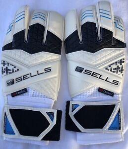Sells Wrap Elite Aqua Campione Goalkeeper Gloves Size 8.5
