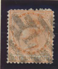Lagos Stamp Scott #6, Used Hinged, Thin Spots