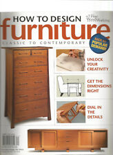 HOW TO DESIGN FURNITURE MAGAZINE CLASSIC TO CONTEMPORARY FALL 2013