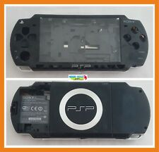 Carcasa Completa Negra PSP 2004 Original (Sin tapa de bateria)