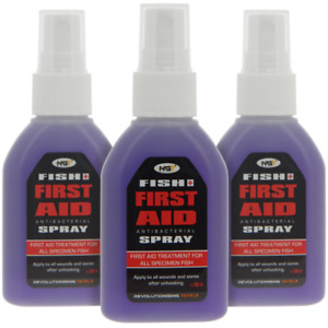 NGT Fish Aid Spray Antibacterial Antiseptic Fish Care Spray Carp Coarse 50ml NEW