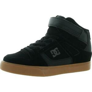 DC Shoes Boys Pure High-Top EV Trainers Leather Skate Shoes Sneakers BHFO 8600