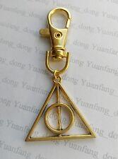 Couleur Or Porte Clé Harry Potter The Deathly Hallows Porte-clés Sac à main,